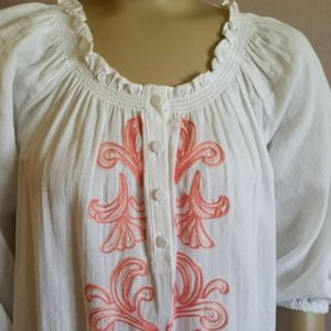 The Webster Peasant top
